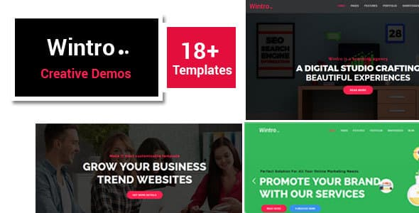 Wintro - Responsive Multi-Purpose Joomla Business Template With Page Builder