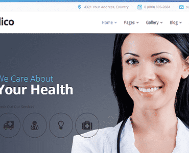 Medico – Medical&Veterinary Multipurpose Business Joomla Theme
