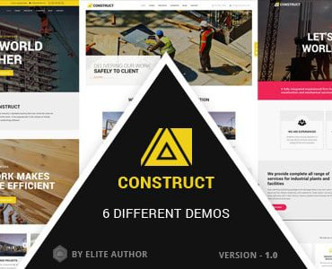 Construct – Construction, Building Multipurpose Company Theme