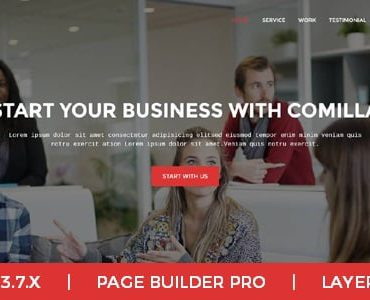 Comilla – Digital Agency One Page Business Joomla Theme