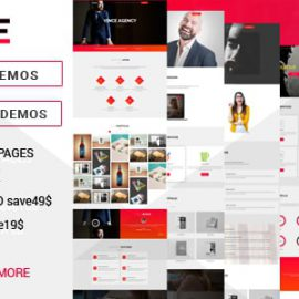 Vince One Page & Multi Page Multipurpose Joomla Theme