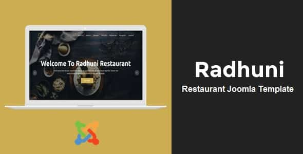 Radhuni - Multipurpose Business Joomla Template
