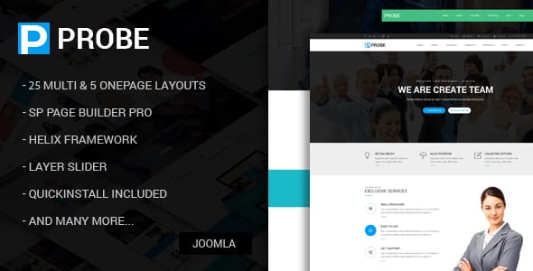 Probe – Responsive Multi-Purpose Joomla Theme