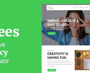 Raees – Creative Agency Joomla Theme