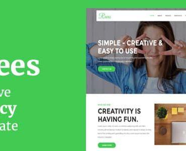 Raees – Creative Agency Joomla Theme