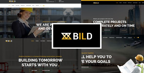 Bild – Building, Construction Multi-Purpose Joomla Theme