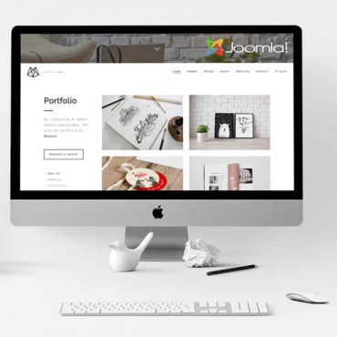 Bushwick – One-Page Helix Ultimate Joomla Theme