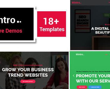 Wintro – Responsive Multi-Purpose Joomla Business Template