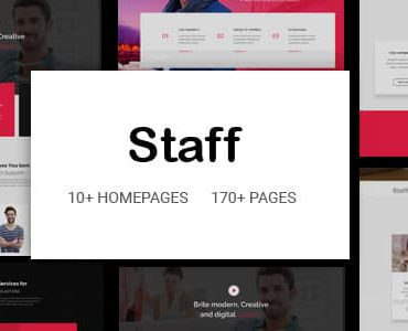 Staff – Responsive Business Multi-Purpose Joomla Template