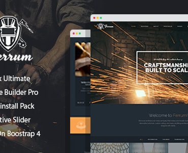Ferrum – Welding And Metal Works Joomla Template