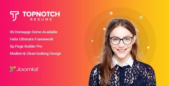 Sciome – Creative Resume & Portfolio Joomla Template