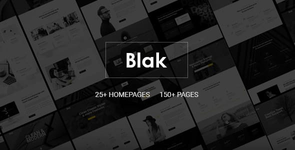 Blak – Responsive Multi-Purpose Joomla Template