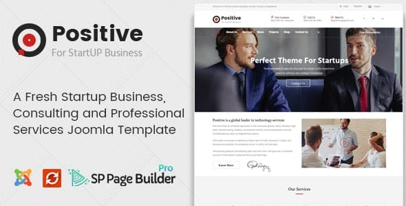 Positive – Startup Business Joomla Template