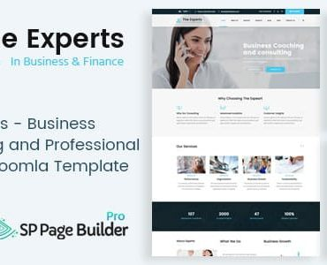 The Experts – Business Consulting and Professional Services Joomla Theme