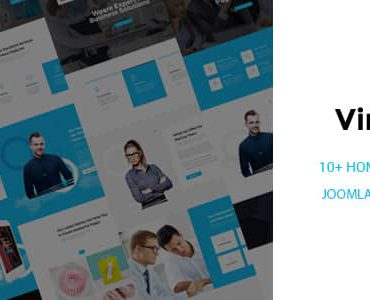 Virat – Responsive Multi-Purpose Joomla Website Template