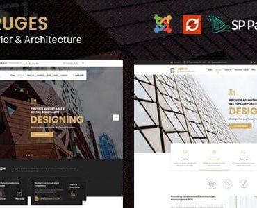 Bruges – Architecture & Interior Design Joomla Template