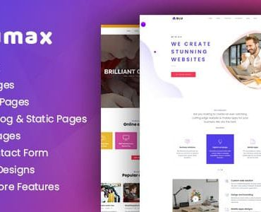 Blumax – Multipurpose Responsive Joomla Website Template