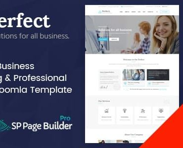Perfect – Consulting Business Joomla Template
