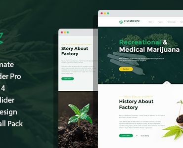 Canabicom – Medical Cannabis Joomla Responsive Template