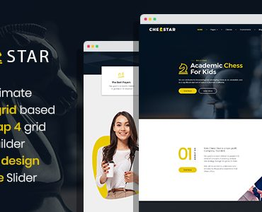 Chesstar – Chess Club and Personal Trainer Joomla Template