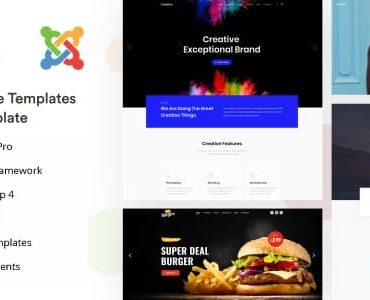 Joo – Niche Multipurpose Joomla Template With Page Builder