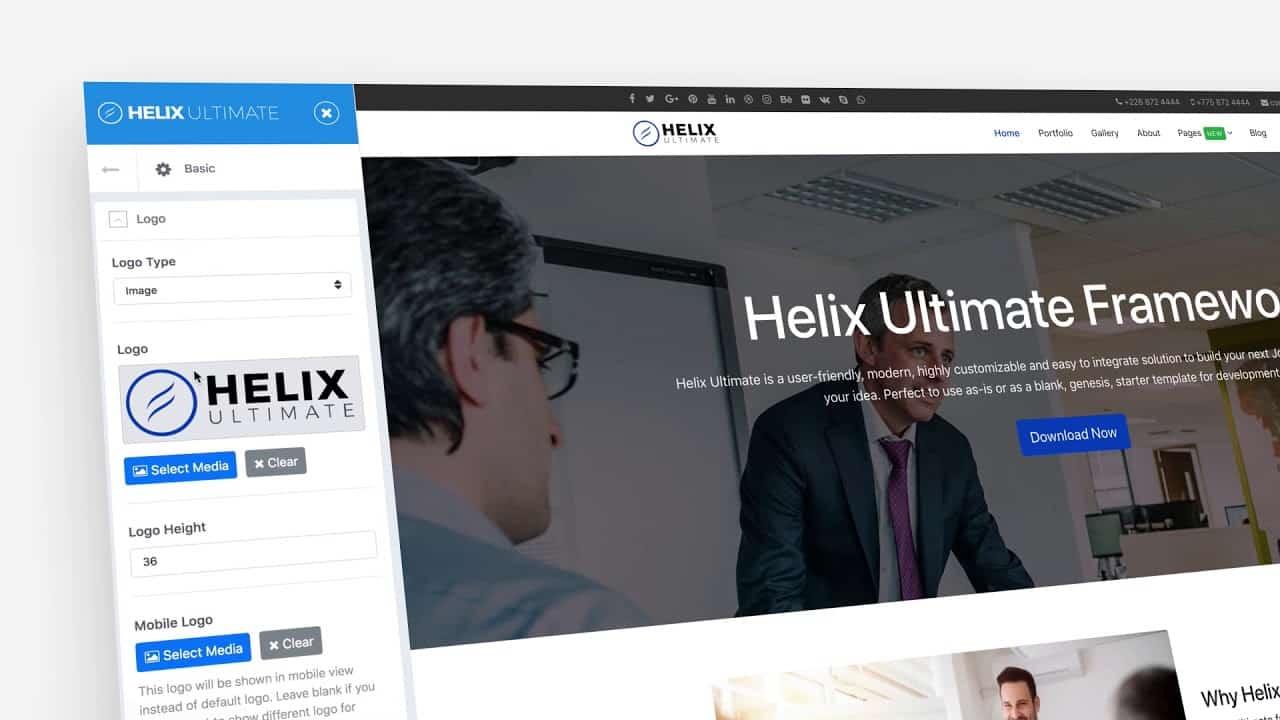Developing Joomla templates and websites: Helix Ultimate