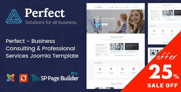 Perfect - Consulting Business Joomla Template