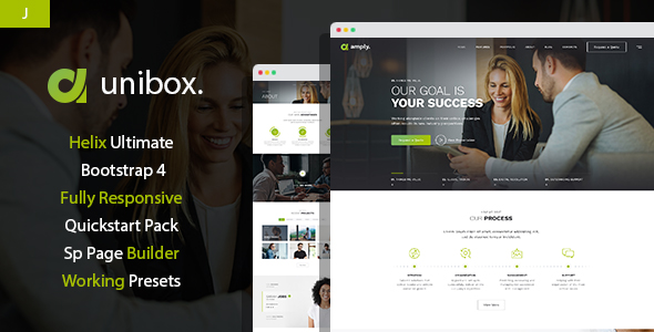 Unibox - Multipurpose Corporate Business Joomla Template