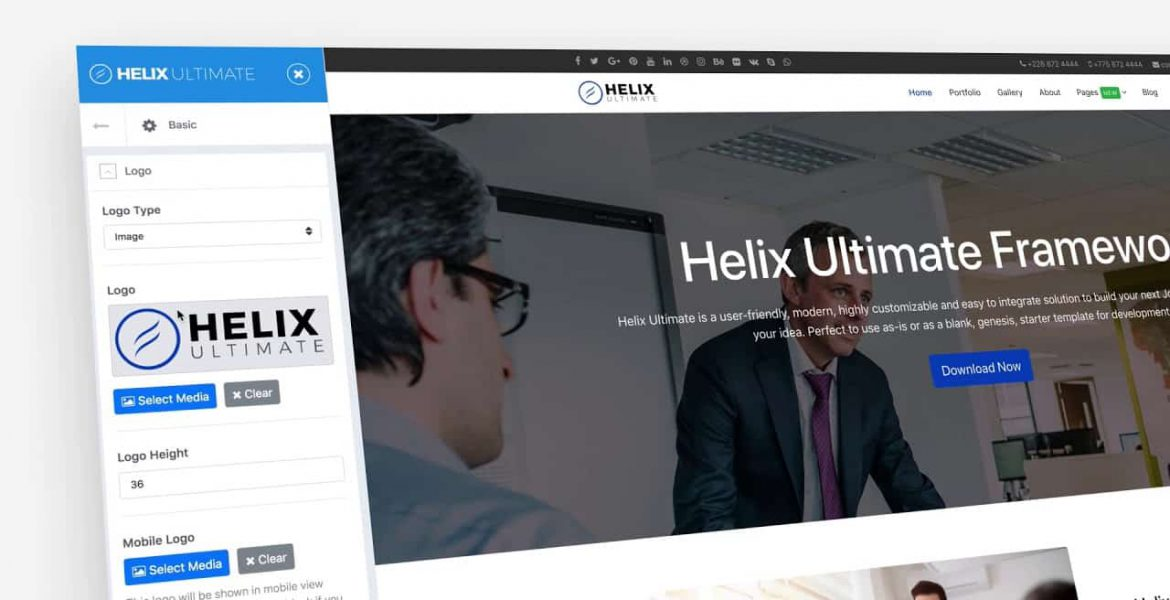 Developing Joomla templates and websites: Helix Ultimate Framework