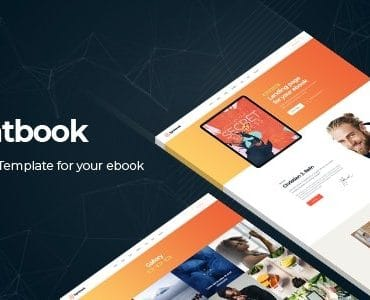 Lightbook - Book Author Promo Joomla Template