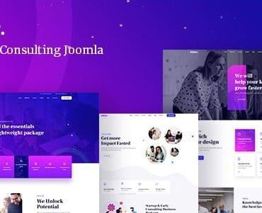 Zibber - Business Consulting Joomla Template