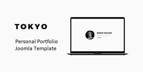 Tokyo – Personal Portfolio Joomla Template With Page Builder