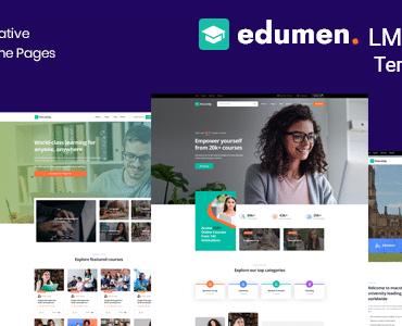 Edumen – Education Joomla 4 Template
