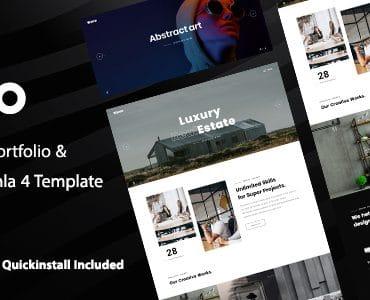 Wavo - Creative Portfolio & Agency Joomla 4 Template
