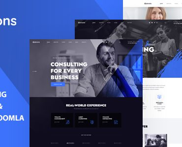 Aivons - Business Consulting Joomla 4 Template